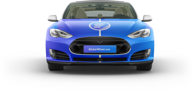 Sticker Wheel | Get paid to drive with car advertising